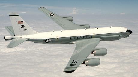 RC-135 Rivet Joint reconnaissance aircraft. © Wikipedia