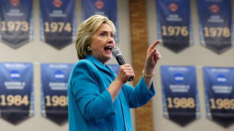 U.S. Democratic presidential candidate Hillary Clinton © Lucy Nicholson