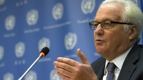 Russian ambassador to the United Nations Vitaly Churkin. ©Brendan McDermid