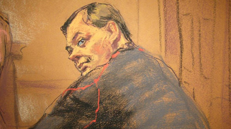 Court sketch of Evgeny Buryakov © Jane Rosenberg