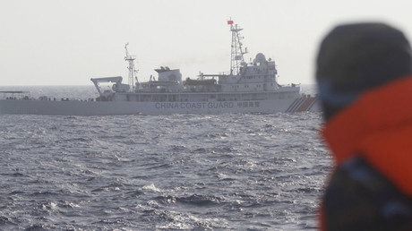 A ship of Chinese Coast Guard in the South China Sea © Nguyen Minh