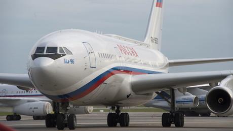 Russian IL-96 aircraft © Sergey Guneev