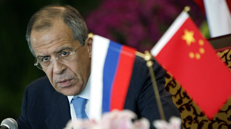 Russia's Foreign Minister Sergey Lavrov © Andy Wong