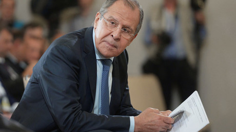 Russian Foreign Minister Sergei Lavrov ©