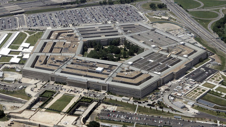An aerial view of the Pentagon building in Washington © Jason Reed