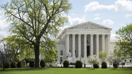 View of the Supreme Court in Washington © Joshua Roberts