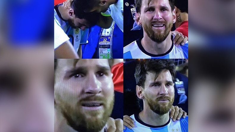 crying game messi meme erupts online after soccer star�s