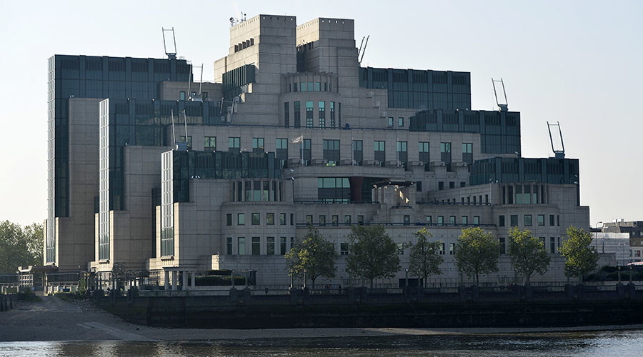 The MI6 Vauxhall Cross building. ©Hannah McKay