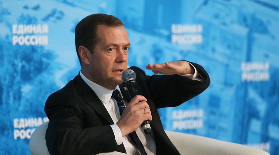 Medvedev calls for major effort to improve Russians' attitude toward businesspeople