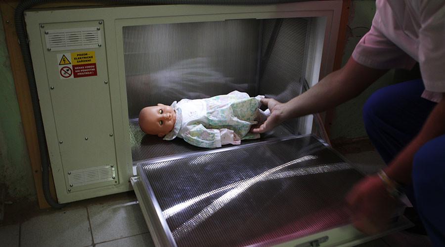 Senator prepares bill banning 'baby boxes' in Russia