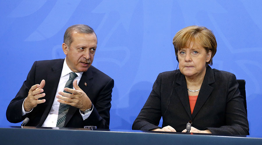 'Erdogan pressuring Merkel as Bundestag moves to consider 1915 Armenian Genocide '