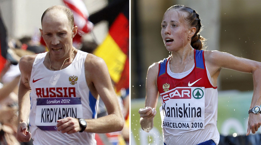 Disgraced Russian duo hand back London 2012 medals