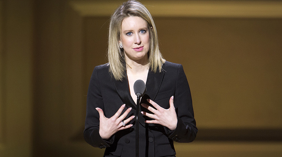 Theranos Chief Executive Officer Elizabeth Holmes © Carlo Allegri