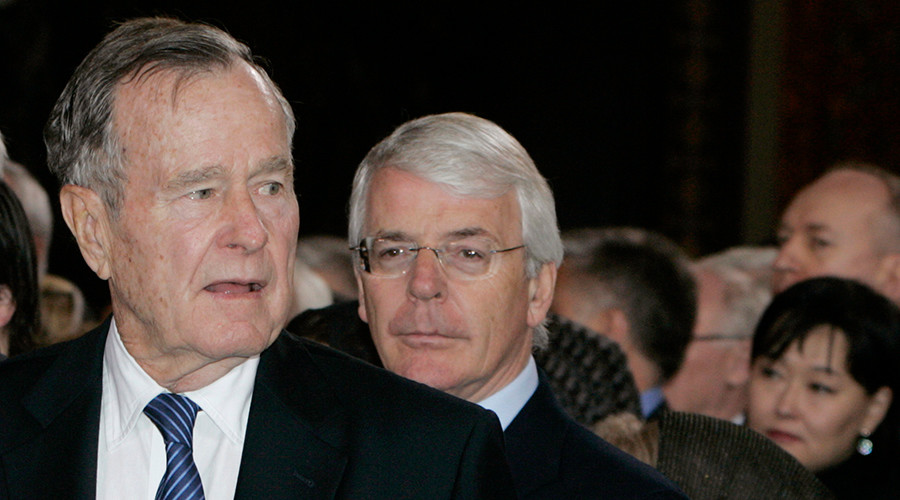 'I sent you a love letter': British PM Major & Bush Sr shared affectionate 'special relationship'