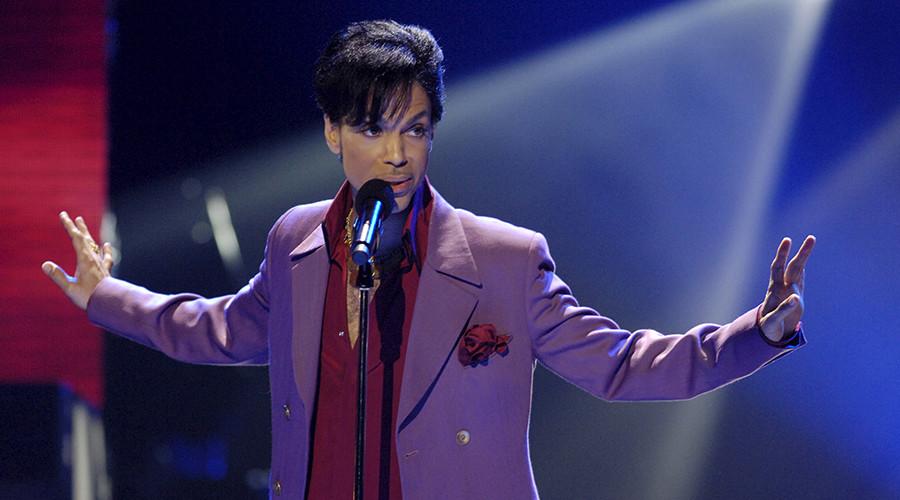 Singer Prince © Chris Pizzello