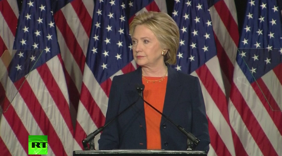 Hawkish Hillary bashes 'dangerous' Donald in foreign policy speech
