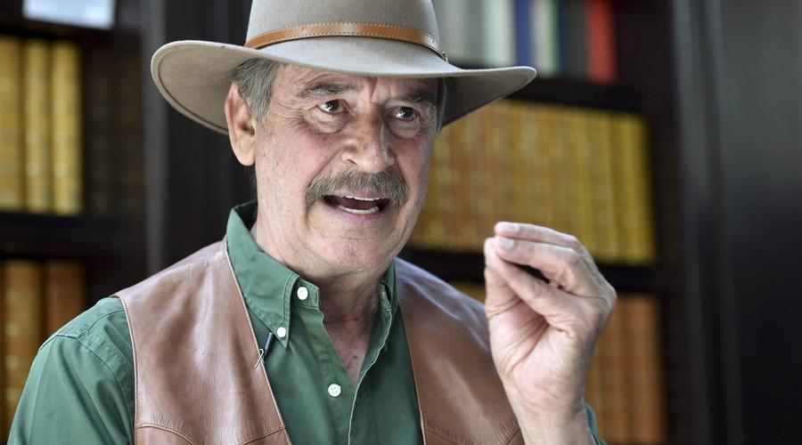 Former Mexican President Vicente Fox. © Yuri Cortez
