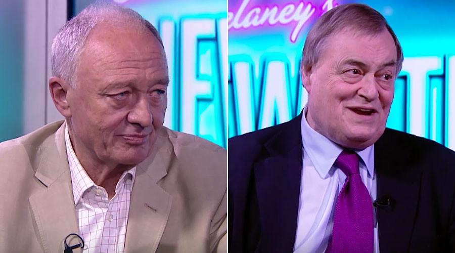 John Prescott to probe ex-London Mayor Ken Livingstone as guest host of RT's News Thing