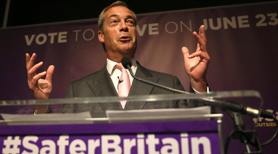 What's to become of Nigel Farage? UKIP leader ponders life beyond Brexit vote