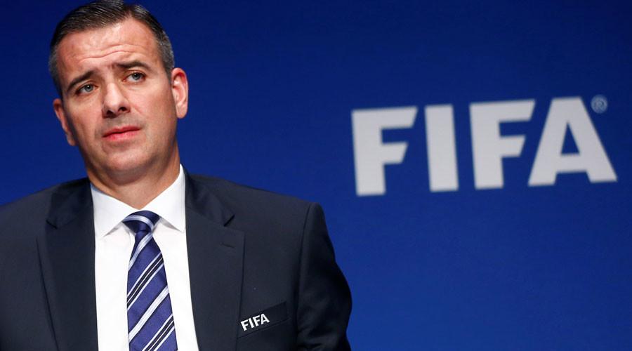 FIFA's acting secretary general Markus Kattner © Arnd Wiegmann