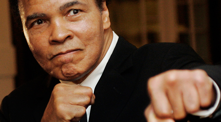 U.S. boxing great Muhammad Ali © Andreas Meier