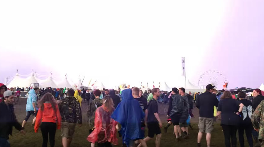 At least 82 injured as lightning strikes Rock am Ring festival in Germany