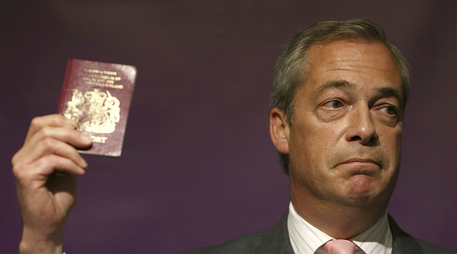 Women face 'mass sex attacks' by migrants if no Brexit - Farage