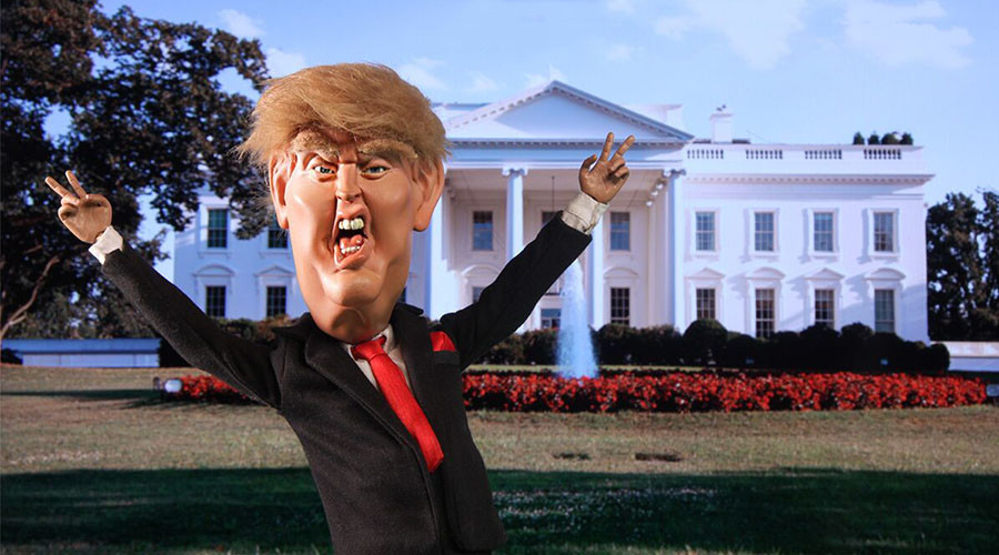 Trump Unhinged: Satirical series shows 'sheer ridiculousness' of The Donald (VIDEOS)
