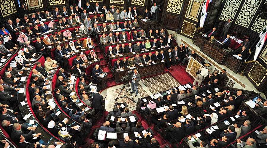 Syrian parliament elects 1st female speaker