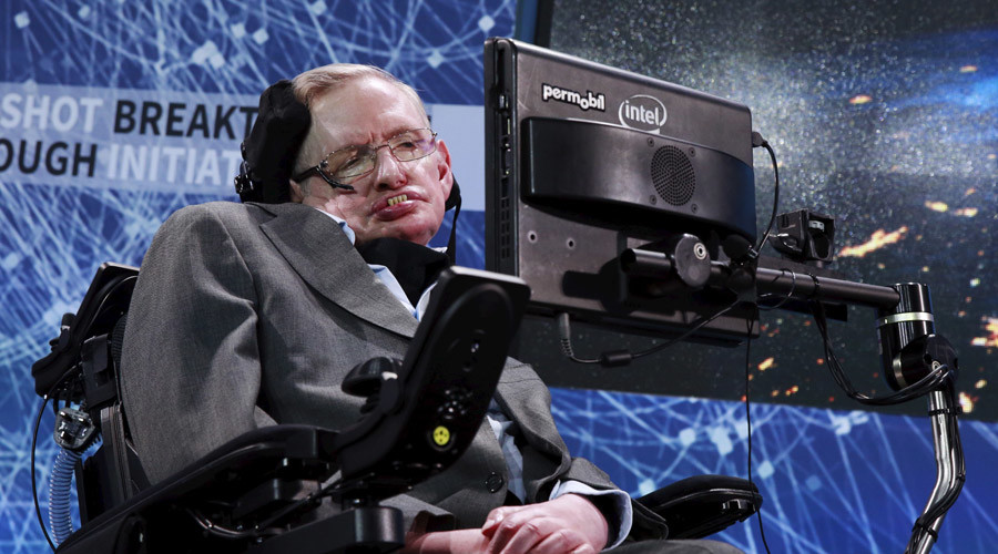 Stephen Hawking knows how to find things lost in black holes