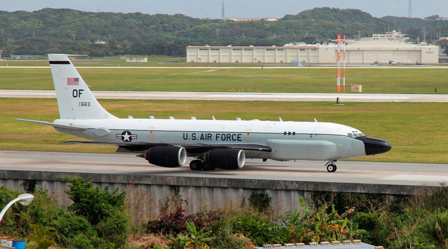 U.S. Air Force RC-135S © Kyodo