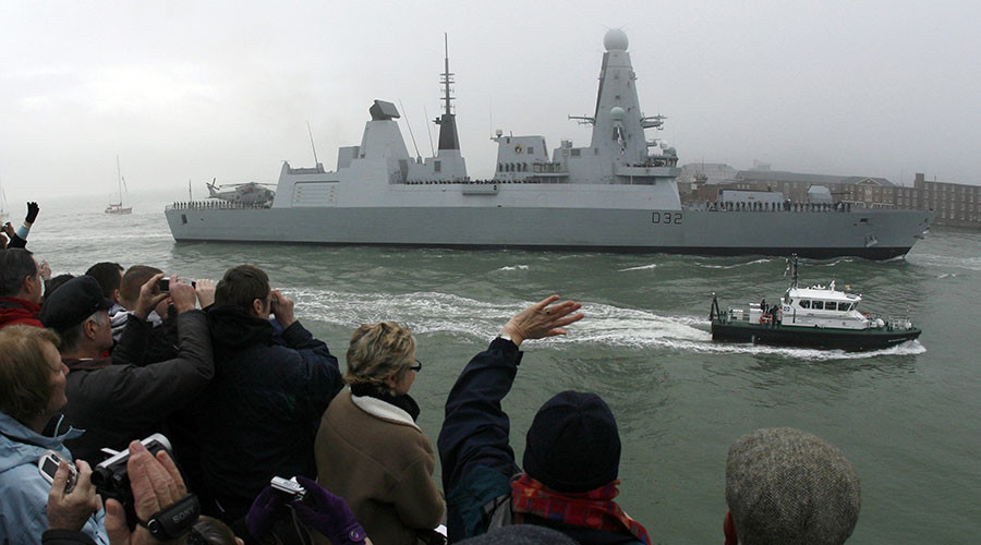 Navy's £1bn high-tech destroyers break down in warm water
