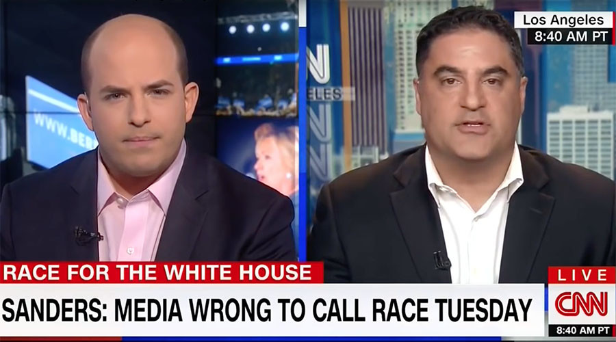 'That's not journalism': Young Turks' Cenk Uygur slams CNN for declaring Clinton Democrat nominee