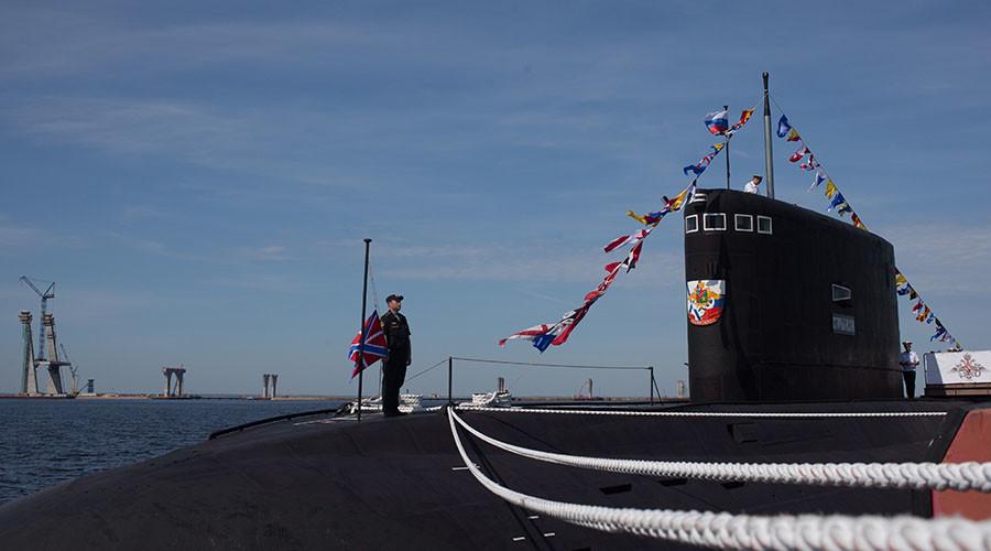 Stary Oskol submarine in St.Petersburg. ©Igor Russak