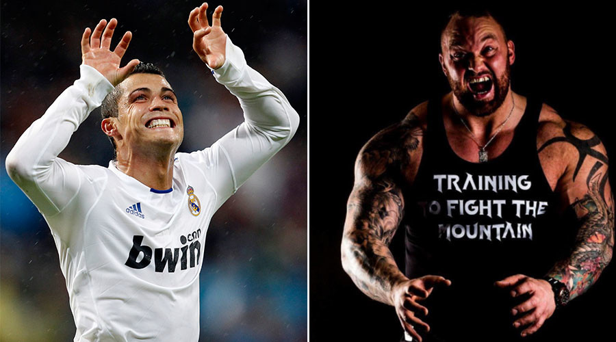 'I'll crush your head': GoT giant threatens Cristiano Ronaldo ahead of Iceland match (VIDEO)