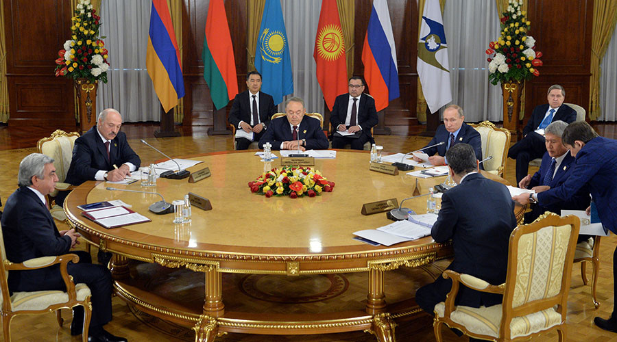 Eurasian Economic Union on the move