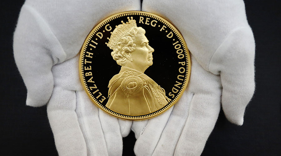 Royal Mint opens its gold vaults to UK pensioners