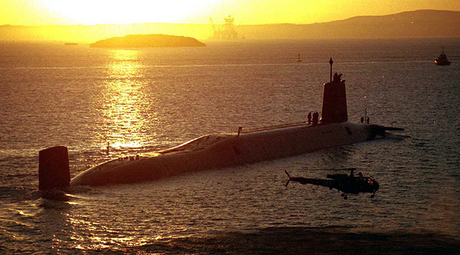 MoD admits it's worried about security at Trident nuclear weapons base
