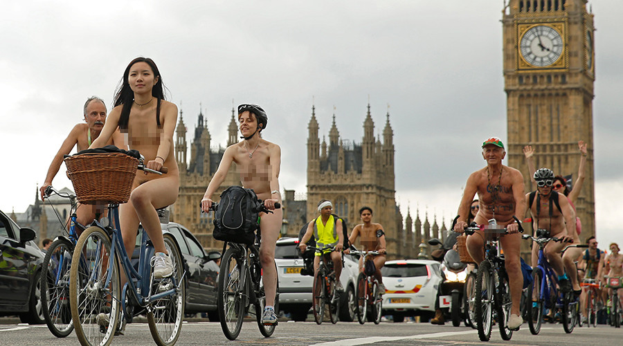Riding bareback! Nude cyclists to flock to central London for anti-car protest