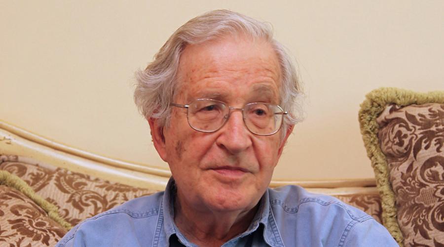 Noam Chomsky © Majed Jaber