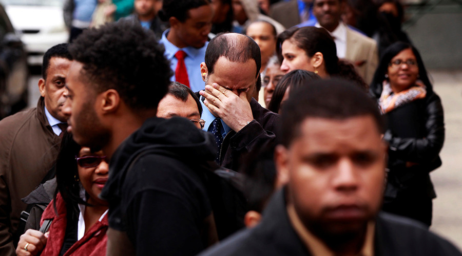 'Frightening': 2 in 5 US unemployed have stopped looking for work