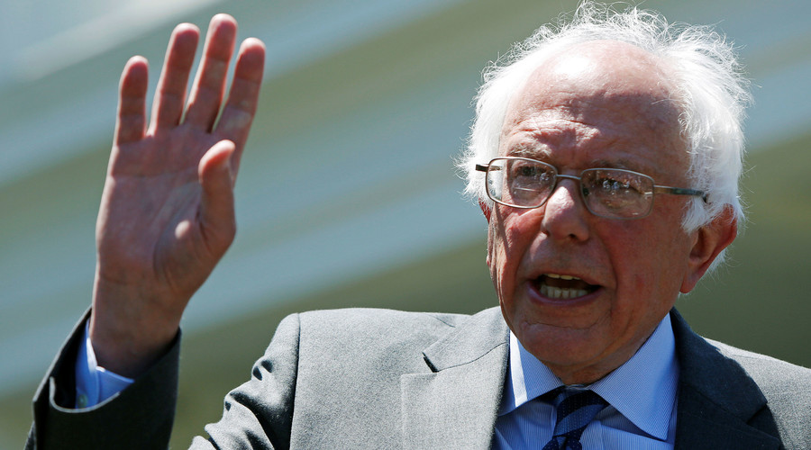 Bernie Sanders holds rally in Washington, DC ahead of primary