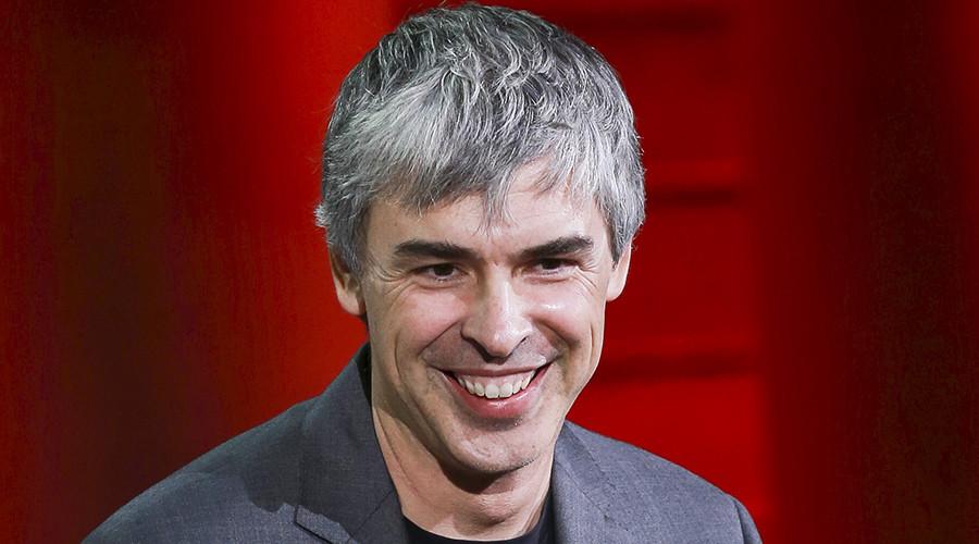 Larry Page, CEO and Co-founder of Alphabet © Elijah Nouvelage