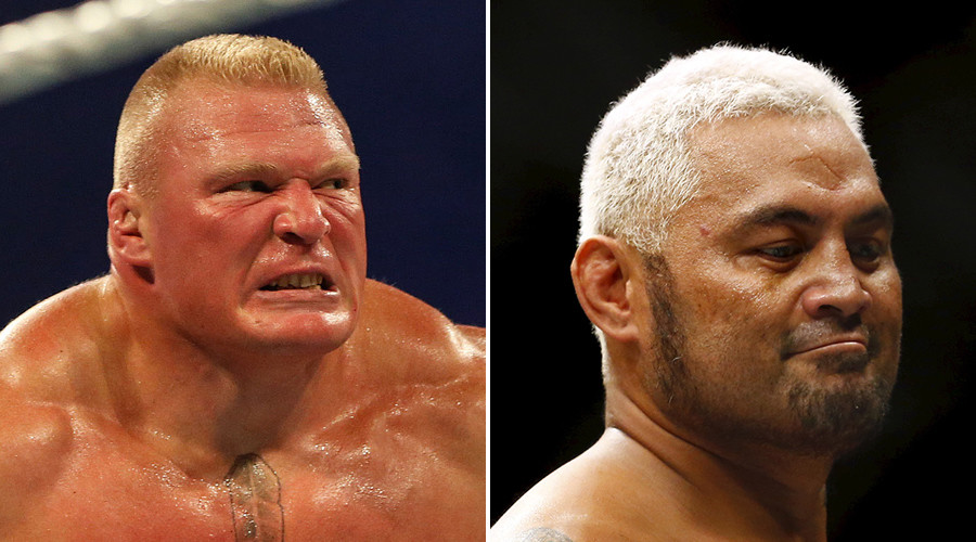 'Juiced to the gills': Brock Lesnar accused of doping by Mark Hunt ahead of UFC 200