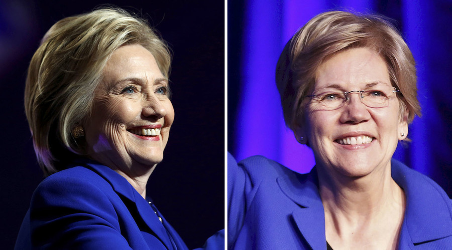 "Pick for Hillary? Clinton says Elizabeth Warren is ""qualified"" to be VP"