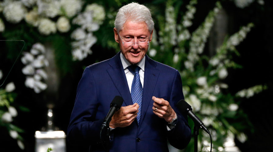 Former U.S. President Bill Clinton © Lucas Jackson