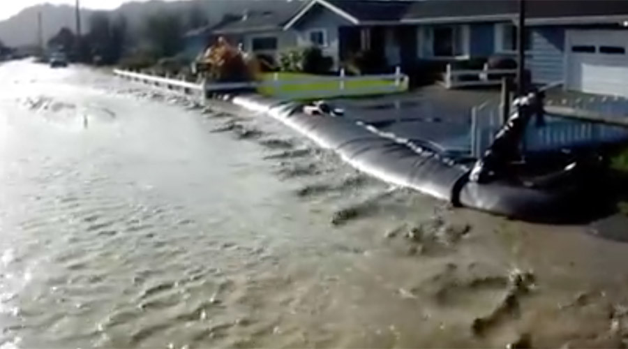 Noah's Plan B: 'Aqua Dam' saved Texas home from flooding