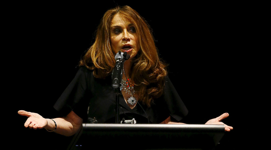 "Notorious ""Islamophobe"" Pamela Geller complained that her Stop Islamization of America page was temporarily removed by Facebook. © Mike Stone"