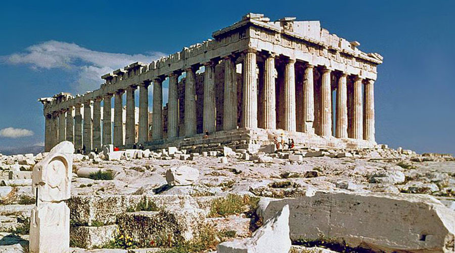 © Steve Swayne. Ruins of the West's first great civilization. Acropolis in Athens, Greece.