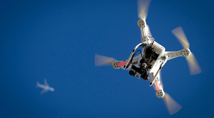 Close call: Drone narrowly avoids 1km-high collision with plane over Canada